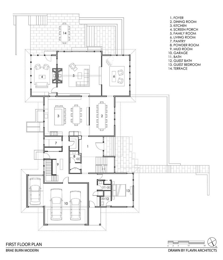 cad drawing floor plan