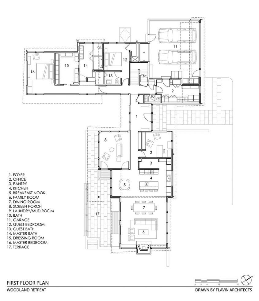 cad drawing floor plan