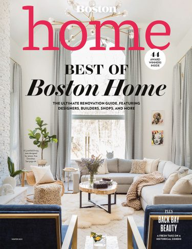 best of boston home 2021 cover