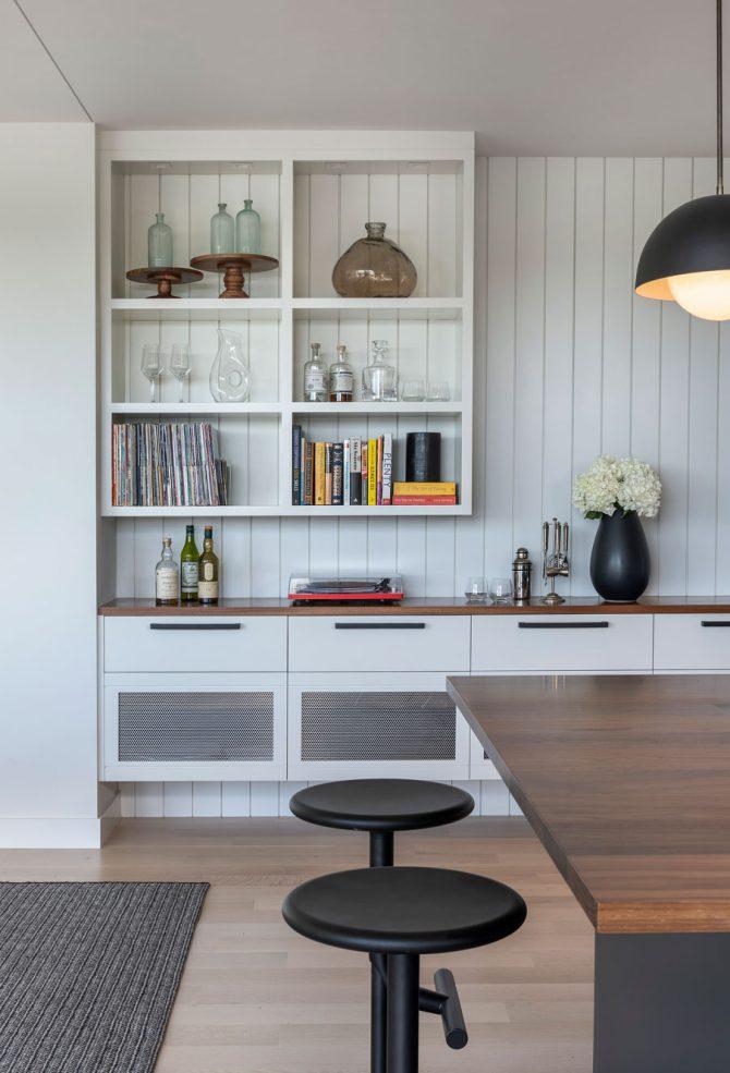 interior photo in annisquam river house